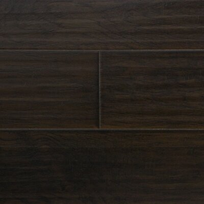 6 x 48 x 12.3mm  Laminate Flooring in Nightfall Hickory