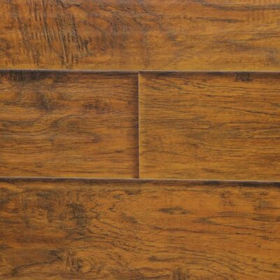 6 x 48 x 12.3mm  Laminate Flooring in Sunset Hickory (Set of 22)