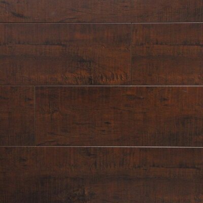 5 x 48 x 12.3mm Laminate Flooring in Mocha Maple (Set of 22)