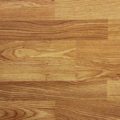 8 x 48 x 8.2mm Laminate Flooring in Red Oak (Set of 22)