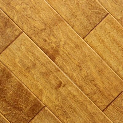 5 x 48 x 2.7mm Birch Laminate Flooring in Caramel (Set of 22)