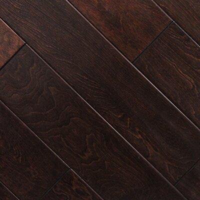 5 x 48 x 2.7mm Birch Laminate Flooring in Cherry Chocolate (Set of 22)