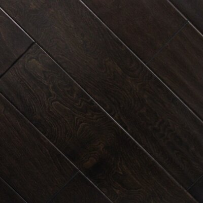 5 x 48 x 2.7mm Birch Laminate Flooring in Fudge