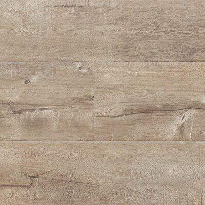 7 x 48 x 12.3mm Laminate Flooring in Latte (Set of 22)