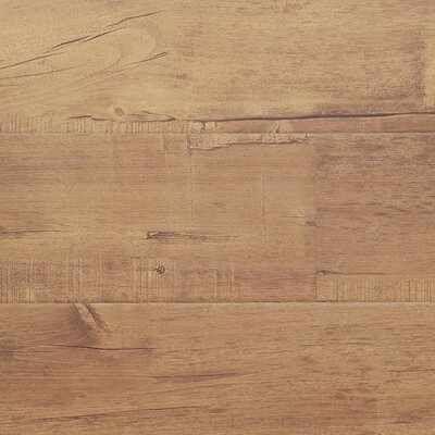 7 x 48 x 12.3mm Laminate Flooring in Chestnut (Set of 22)