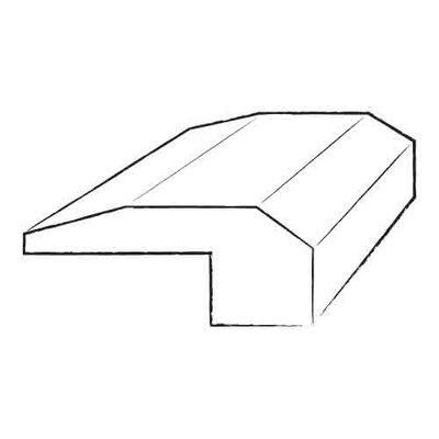 Furniture-0.5 x 3.5 x 84 Fudge Birch Stair Nose in Smooth