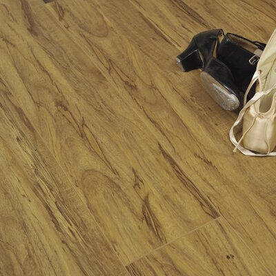 7 x 48 x 12.3mm Laminate Flooring in Rustic Olive