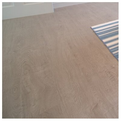 8 x 48 x 12.3mm  Laminate Flooring in Sand Dollar (Set of 22)