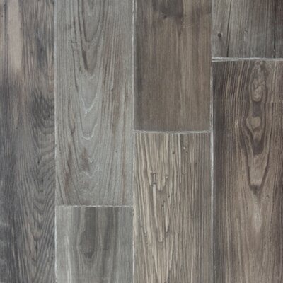 Zachery 7 x 48 x 12.3mm Laminate Plank in Clay