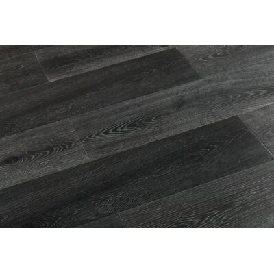 Augustus 7.71 x 72.83 x 12mm Laminate Flooring in Smoky Gray