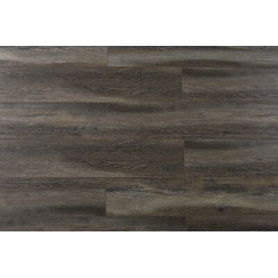 Abdiel Bima 7.72 x 47.83 x 12.3mm Laminate Flooring in Gray/Brown
