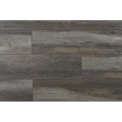 Abdiel Nakula 7.72 x 47.83 x 12.3mm Laminate Flooring in Gray