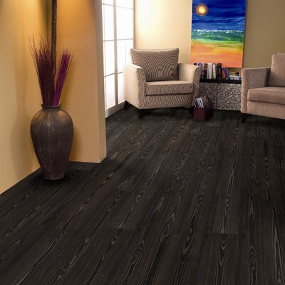 6 x 36 x 3.05mm Luxury Vinyl Plank in Antique Zebra Wood