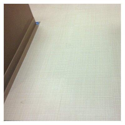 Linen Look 18 x 18 x 3mm Luxury Vinyl Tile in Gray