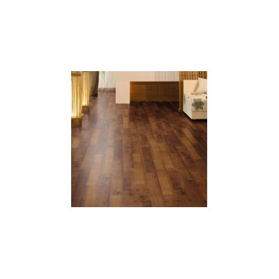 6 x 36 x 3mm Luxury Vinyl Plank in Mahogany Aged