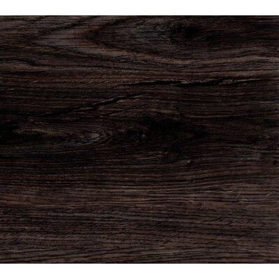EasyLay 9 x 48 x 0.13mm Luxury Vinyl Plank in Midnight
