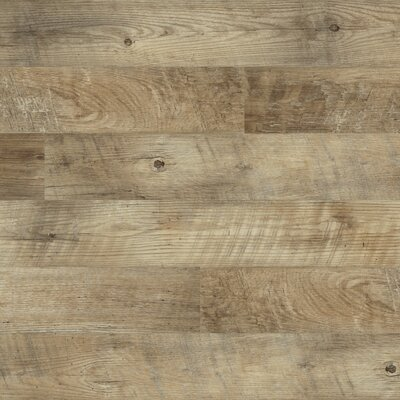 Oak 6 x 48 x 2mm Luxury Vinyl Plank in Sand