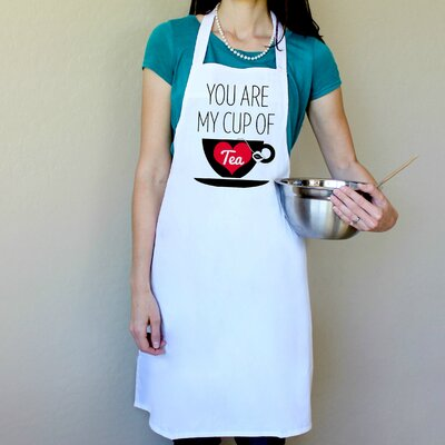 100% Cotton Your My Cup Of Tea Apron 36