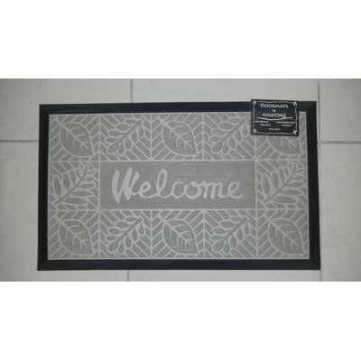 Welcome Doormat Color: Beige