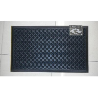 Ring Doormat Color: Black