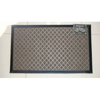 Ring Doormat Color: Coffee