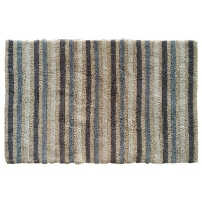 Springwater Striped Reversible Bath Rug
