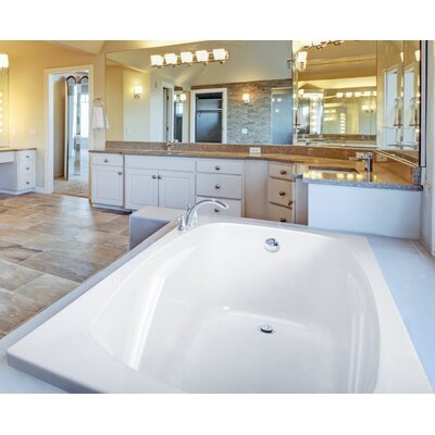 Alexandria 72 x 36 Soaking Bathtub