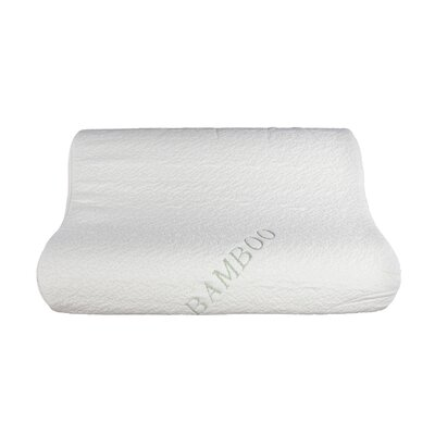 Natural Touch Rayon from Bamboo Memory Foam Queen Pillow