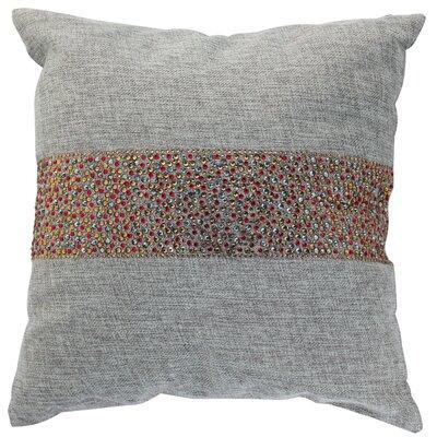 Throw Pillow Color: Ash / Cinnamon