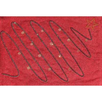Holiday Christmas Tree Placemat