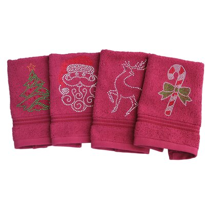 Holiday Washcloth