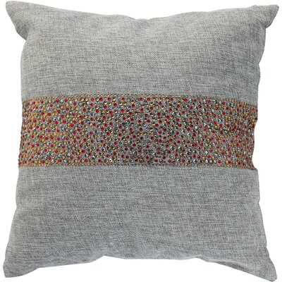 Throw Pillow Color: Ash / Cinnamon