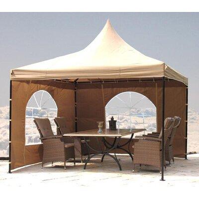 2-tlg. Seitenwand-Set für Lounge Pavillon Sahara | Garten > Pavillons | Polyester | Grasekamp