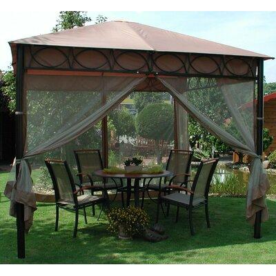 300 cm x 300 cm Pavillon Safari   Garten > Pavillons   Leco
