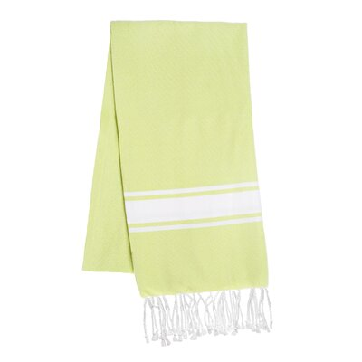 Fouta Beach Towel Color: Lime
