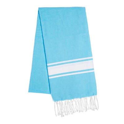 Fouta Beach Towel Color: Turquoise