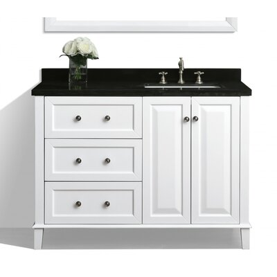 Hannah 48 Single Bath Vanity Set with Mirror