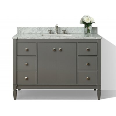 Kayleigh 48 Single Bath Vanity Set Base Finish: Sapphire Grey