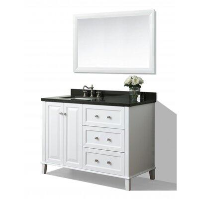 Hannah 48 Single Bath Vanity Set with Mirror