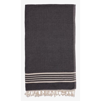 Terry Lined Spa Towel Color: Dark Blue