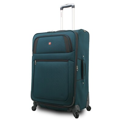 Wenger Swiss Gear Carry-On Spinner Suitcase - Color: Teal / Black at Sears.com