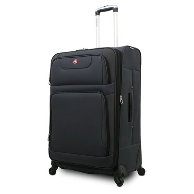 "Wenger Swiss Gear 25.5"" Spinner Suitcase - Color: Grey/  Black at Sears.com"