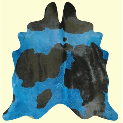 Dairy Handmade Blue/Black Area Rug