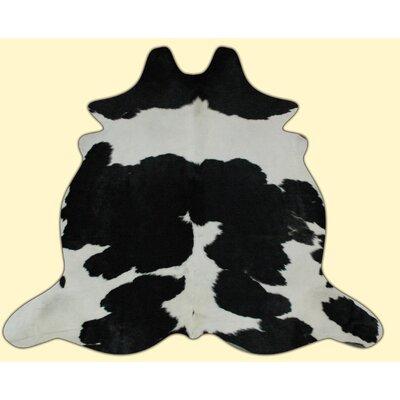 Dairy Black/White Area Rug