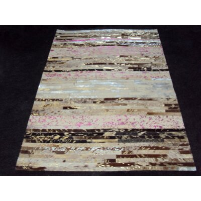Patchwork Stripe Neapolitan Area Rug Rug Size: Rectangle 4 x 6