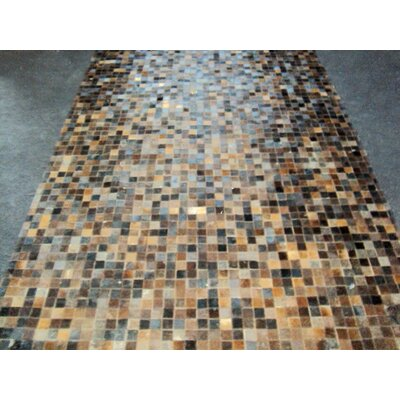 Patchwork Baltic Brown Area Rug Rug Size: Square 6'