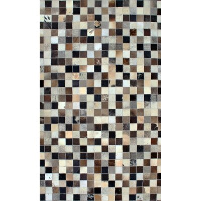Patchwork Static Multi-colored Area Rug Rug Size: Square 6