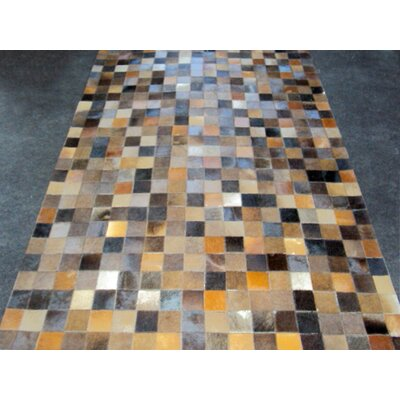 Patchwork Baltic II Brown Area Rug Rug Size: 5 x 8