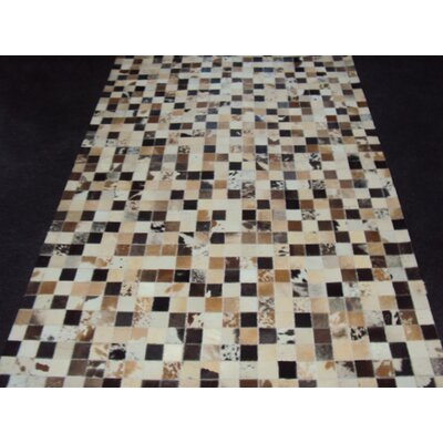 Patchwork Static III Multi-colored Area Rug Rug Size: Square 4