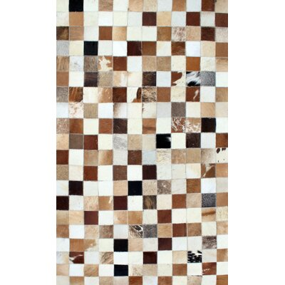 Patchwork Static Multi-colored Area Rug Rug Size: Square 4